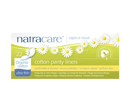 Natracare Organic Cotton Panty Liners - Ultra Thin 22 pcs
